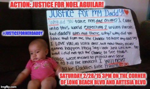 Justice For My Daddy Flyer Edited
