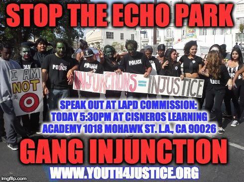 Echo park Speak Out 2:3:15