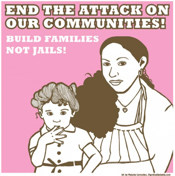 Build Families Not jails No More jails Image