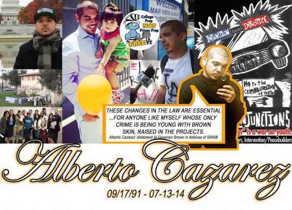 Alberto Cazarez Memorial Picture