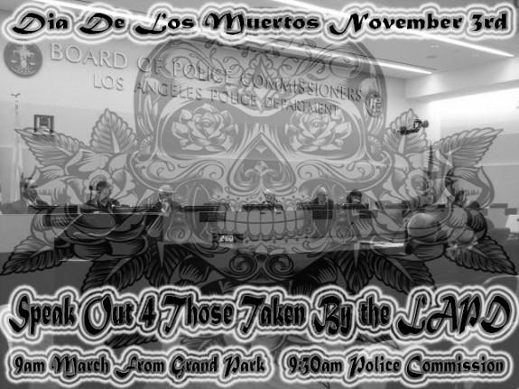 Flyer dia de los muertos november 3 2015 YJC