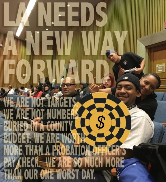 LA Needs Motion Passed Flyer We are not targets 2016