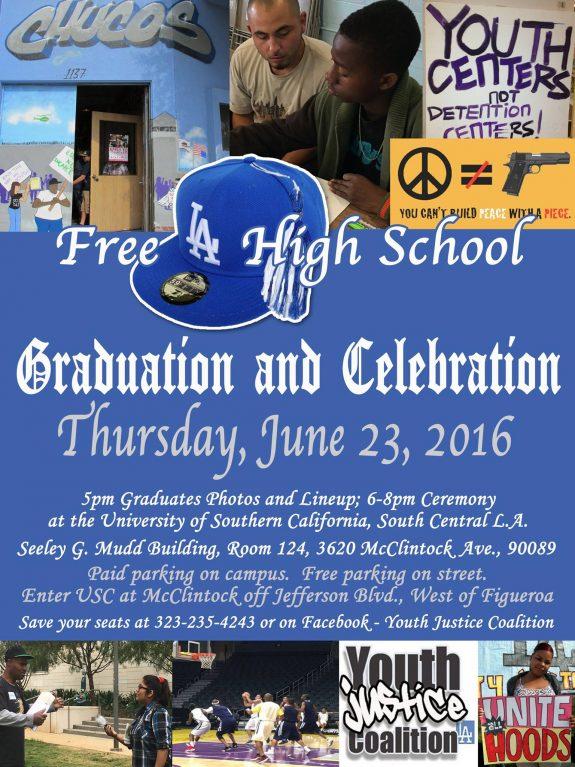FREE LA HIGH GRADUATION 2016 JUNE
