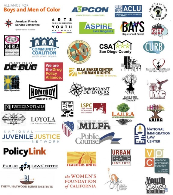 Thank You orgs AB 2298 YJC Partners flyer logos
