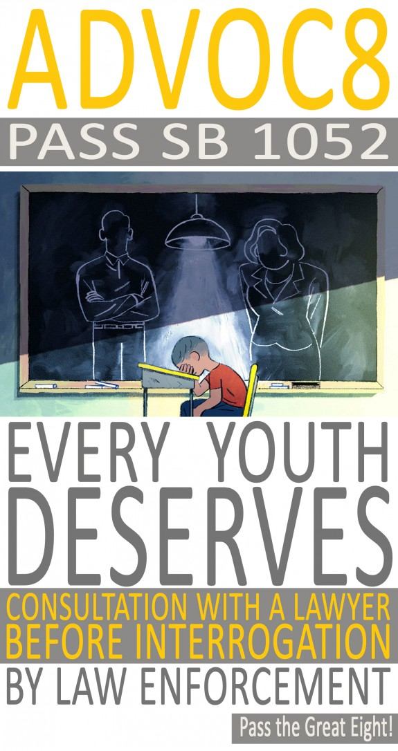 YJC SB 1052 Every Youth Deserves Lawyer Flyer