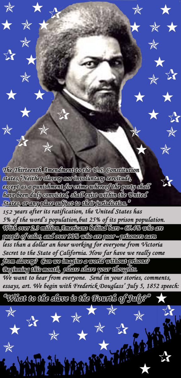 frederick douglass fourth of july essay The tone of the speech changes by the end of the introduction how does douglass seem to become what emotions why he becomes angrier as the speech continues.